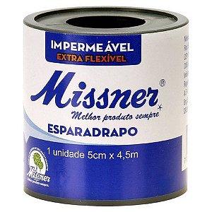 Esparadrapo Impermeável 5cm x 4,5m Missner