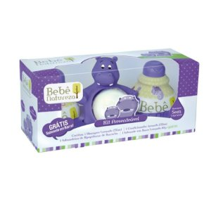 Kit Presenteável Bebê Natureza Hipopotamo