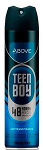 Desodorante Antitranspirante Above Teen Boy 150mL/90g Baston