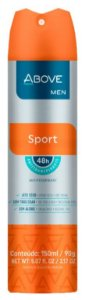 Desodorante Antitranspirante Above Sport 150mL/90g Baston