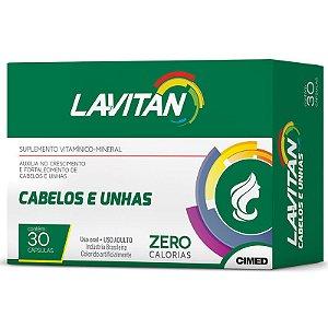 Lavitan Hair - Nutrição Capilar com 30 cápsulas
