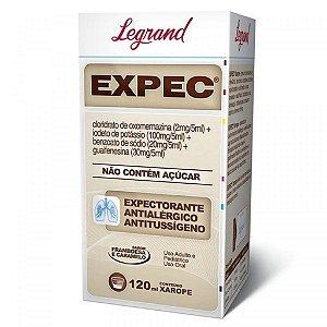 Expec Xarope com 120mL Legrand