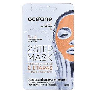 Máscara Facial Océane - Dual-Step Mask Amêndoas e Vitamina E
