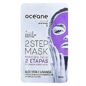 Máscara Facial Océane - Dual-Step Mask Aloe Vera e Lavanda