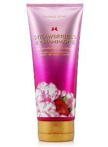 Creme Ultra Hidratante Victoria's Secret Strawberries e Champagne