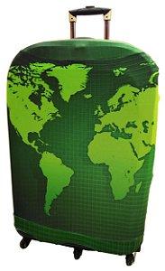 KEEKY Mapa Mundi Verde