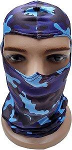 Balaclava Camuflada Azul