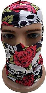 Balaclava Skull Roses