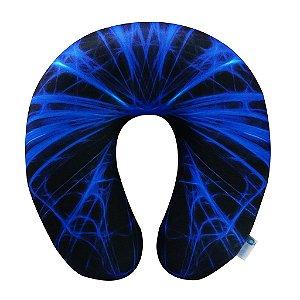 Almofada de Pescoço Teia Azul