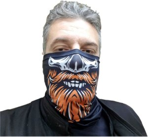 Bandana Tubular Barba