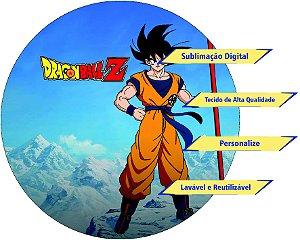 Painel Redondo Personalizado Dragon Ball