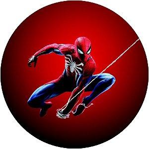 Painel Redondo Personalizado Spiderman