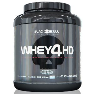Whey 4 HD Black Skull