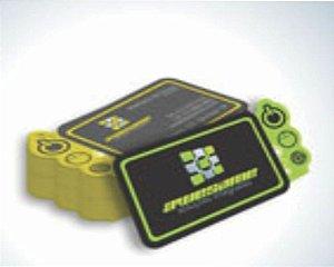 1.000 unidades de cartão de visita 4x4 cores - corte especial