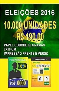 10.000 santinhos