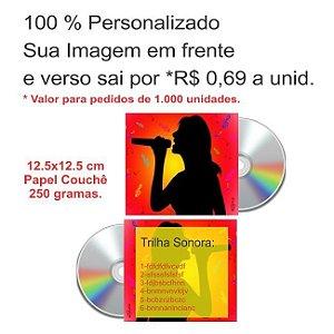 1.000 ENVELOPES DE CD PERSONALIZADO