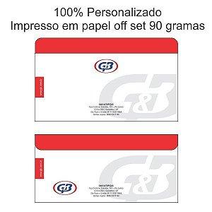 1.000 envelopes coloridos 11.5x23 cm