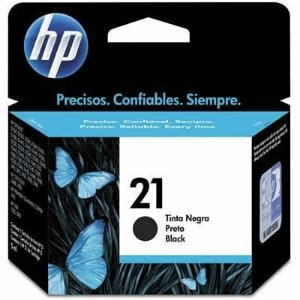 Cartucho Original HP 21 Preto - C9351AB