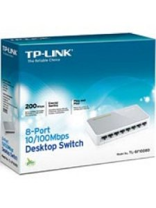 Switch Desktop 8-Portas 10/100 Mbps
