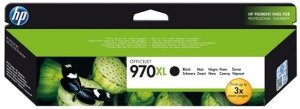 Cartucho de Tinta HP 970 XL Preto