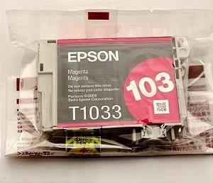 Cartucho de Tinta Epson Original |103 Magenta | T1033