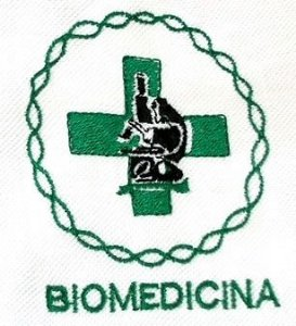 Polo Biomedicina Baby-Look Branca Bordada
