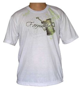 Camiseta Farmácia Branca em Gel