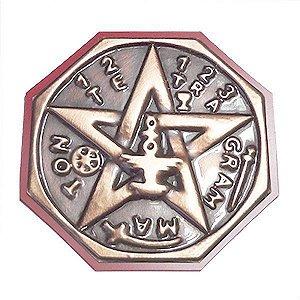 Quadro Tetragrammaton  Cobre Grande