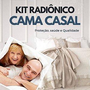 Kit Cura Radiônica para Cama de Casal