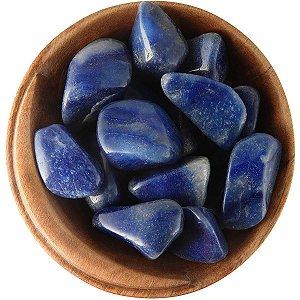 Pedra Quartzo Azul Rolada 100g