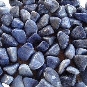Quartzo Azul Rolada 70g