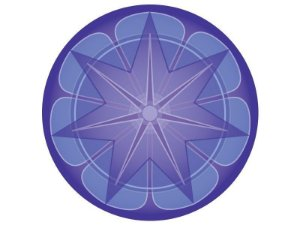Fundo de tela Mandala da Prosperidade