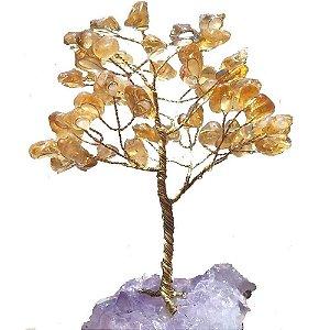 Árvore da Prosperidade de Citrino 13cm