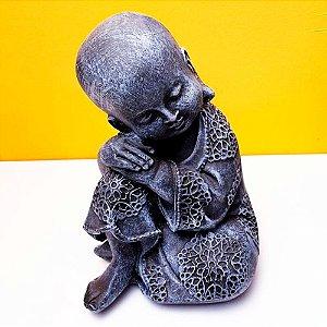 Estátua de Buda Bebe Paz Interior