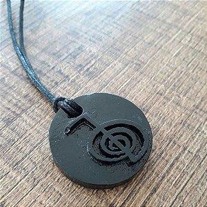 Colar Orgonite Reiki - Tecnologia Black Sun