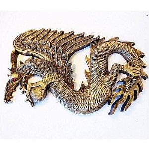 Dragão Voador Olho Swarovski de Parede
