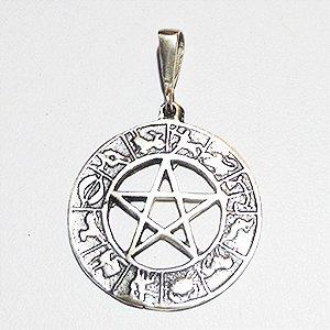 Gargantilha Zodíaco em Prata 925