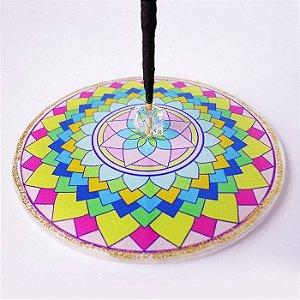 Incensário Mandala da Alegria