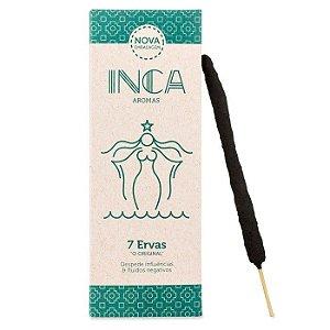 Incenso 7 Ervas Iemanjá Purificação Inca