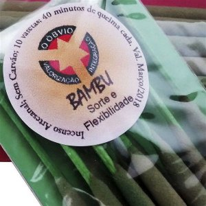 Incenso de Bambu Natural - Sorte e Flexibilidade