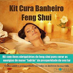 Kit Feng Shui Banheiro Cura Total
