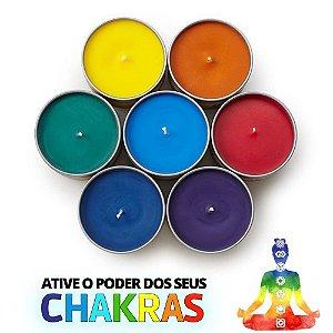 kit Velas Aromaticas 7 Chakras