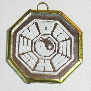 Mini Baguá Yin Yang Espelhado