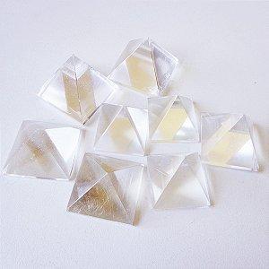Mini Pirâmides de Quartzo Cristal