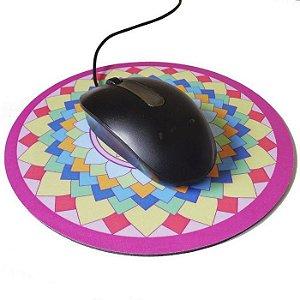 Mouse Pad Mandala da Alegria