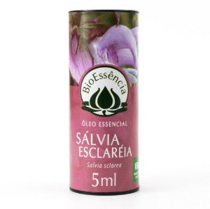 Óleo Essencial Sálvia Esclareia (Salvia sclarea)