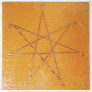 Placa Estrela Sopro de Vida G - Gráfico em Cobre