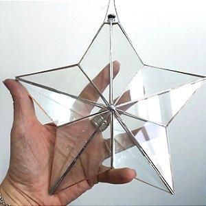 Prisma d'água Estrela Juntas Metálicas 20cm