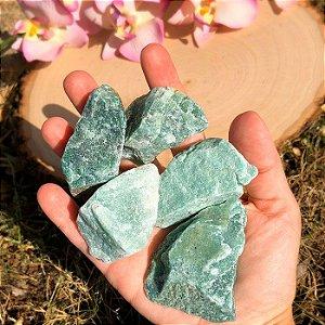 Pedra Quartzo Verde Bruta 100g