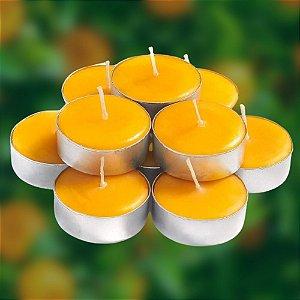 Velas Tea Lights Aura Orange